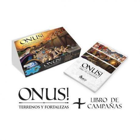 ONUS! Terreno y Fortalezas + Libro de Campañas