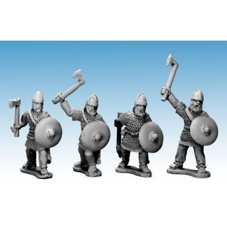 Saxon Noble Warriors with axes