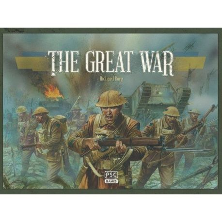 Commands and Colours The Great War boardgame