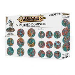 Peanas redondas Shattered Dominion 25 y 32 mm