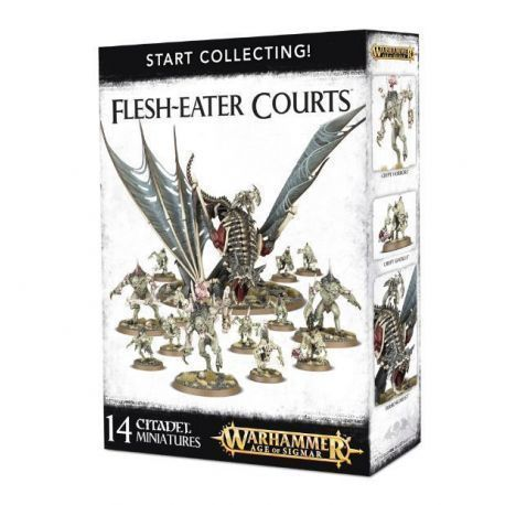 START COLLECTING: FLESH-EATER COURTS