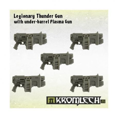 LEGIONARY THUNDER GUN WITH UNDER-BARREL PLASMA GUN