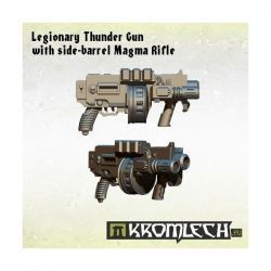 LEGIONARY THUNDER GUN WITH SIDE-BARREL MAGMA RIFLE