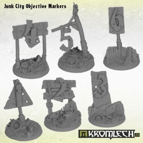 JUNK CITY OBJECTIVE MARKERS