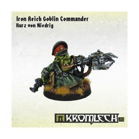 IRON REICH GOBLIN COMMANDER KURZ VON NIEDRIG