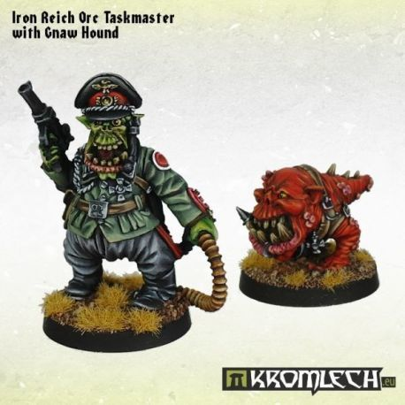 IRON REICH ORC TASMASTER WITH GNAW HOUND