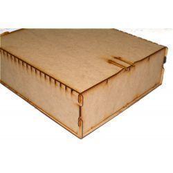 Trading Card Big Box - Wood