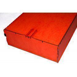 Trading Card Big Box - Red