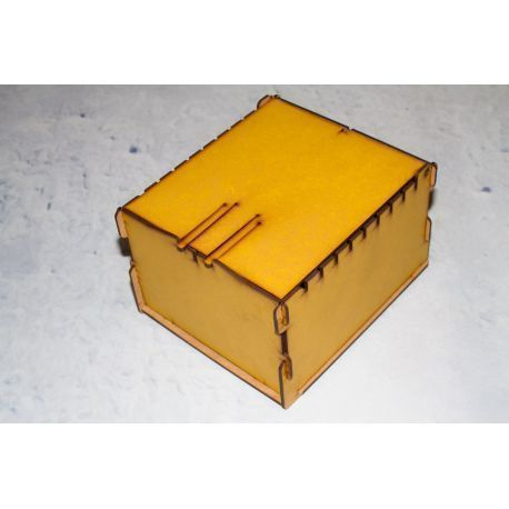 Trading Card  Box - Yellow