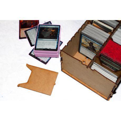 Trading Card  Box - Wood