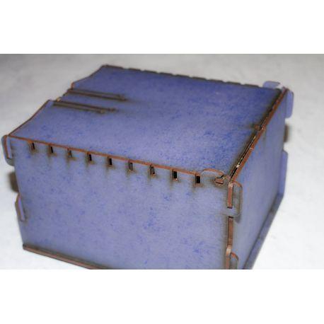 Trading Card  Box - blue