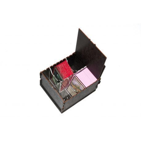 Trading Card  Box - Black