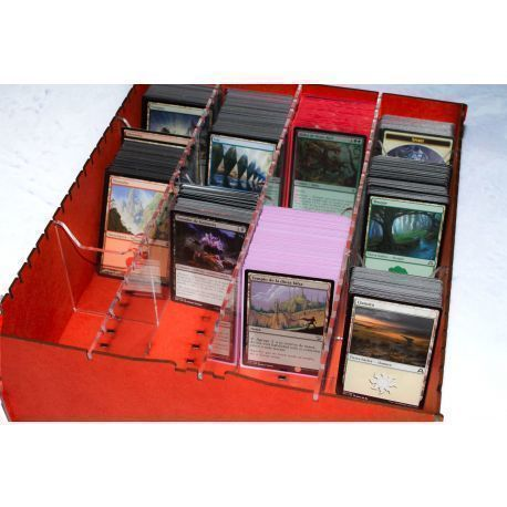 Trading Card Big Box - Red