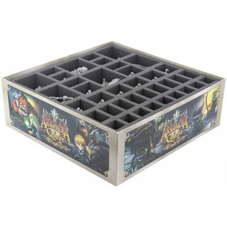 Foam tray value set for Arcadia Quest board game box