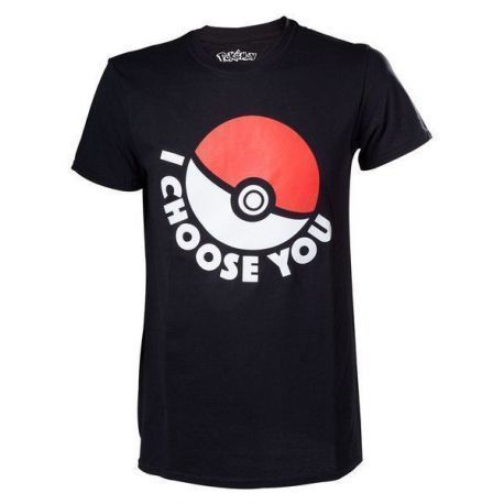 CAMISETA POKEMON CHOOSE XL