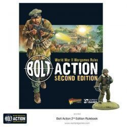 BOLT ACTION RULEBOOK 2ND EDITION (INGLÉS)