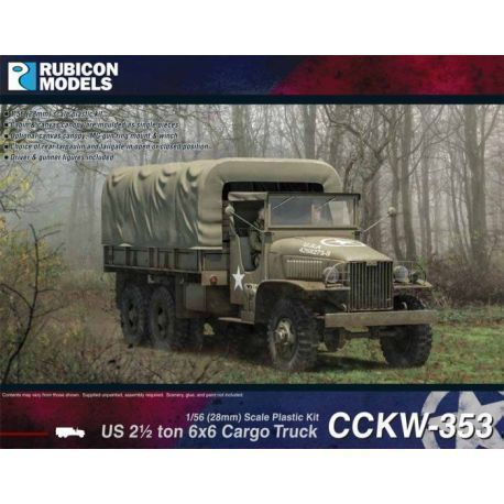 Rubicon Plastic - CCKW-353 Deuce and a Half Truck