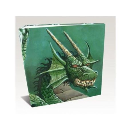 Dragon Shield - 3-Ring Binder - Green Dragon