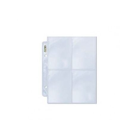 UP - Platinum 4-Pocket Pages (for 2 Mini Albums) Display (100 Pages)""