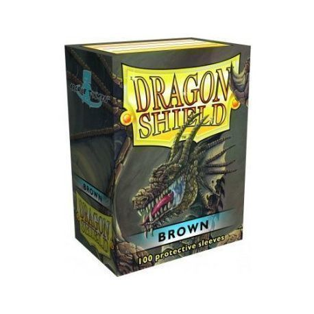Dragon Shield Standard Sleeves - Brown (100 Sleeves)
