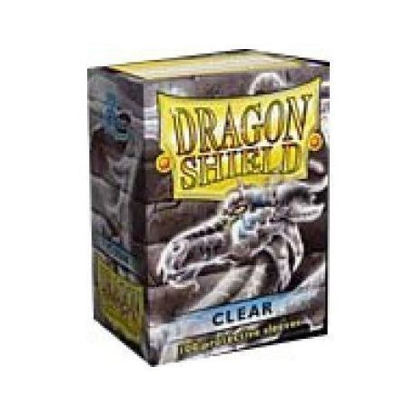 Dragon Shield Standard Sleeves - Clear (100 Sleeves)