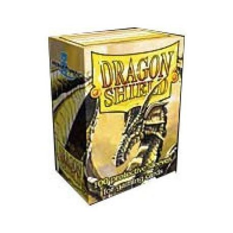 Dragon Shield Standard Sleeves - Gold (100 Sleeves)