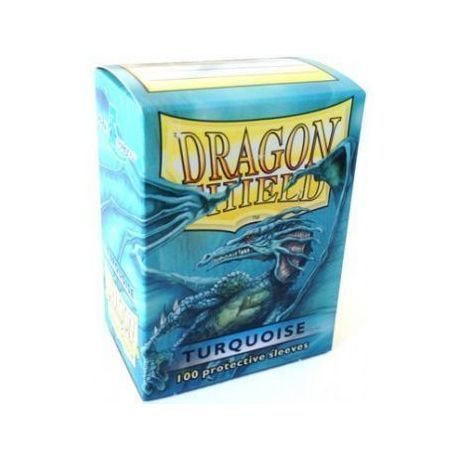 Dragon Shield Standard Sleeves - Turquoise (100 Sleeves)