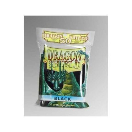 Dragon Shield Standard Sleeves - Black (50 Sleeves)