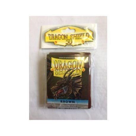 Dragon Shield Standard Sleeves - Brown (50 Sleeves)