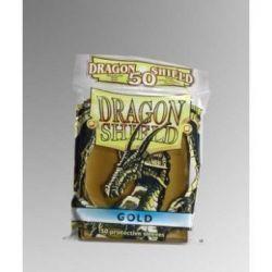 Dragon Shield Standard Sleeves - Gold (50 Sleeves)