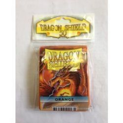 Dragon Shield Standard Sleeves - Orange (50 Sleeves)