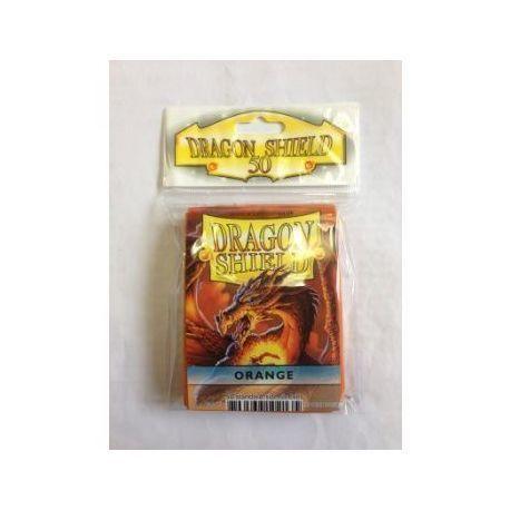 Dragon Shield Standard Sleeves - Orange (50 Sleeves)