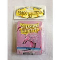 Dragon Shield Standard Sleeves - Pink (50 Sleeves)