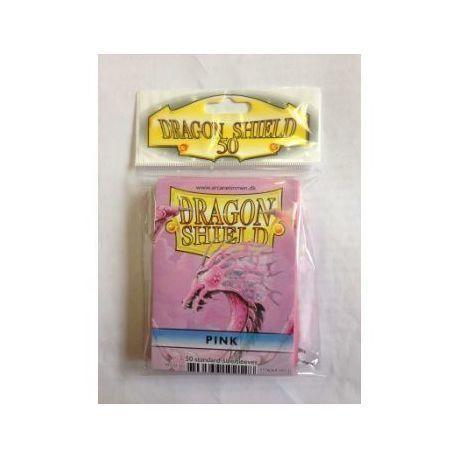 Dragon Shield Standard Sleeves - Pink (50 Sleeves)
