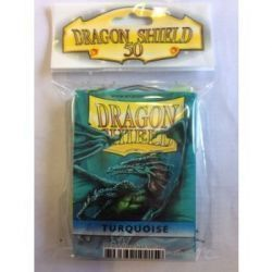 Dragon Shield Standard Sleeves - Turquoise (50 Sleeves)