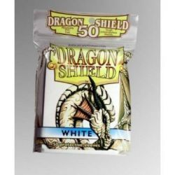 Dragon Shield Standard Sleeves - White (50 Sleeves)