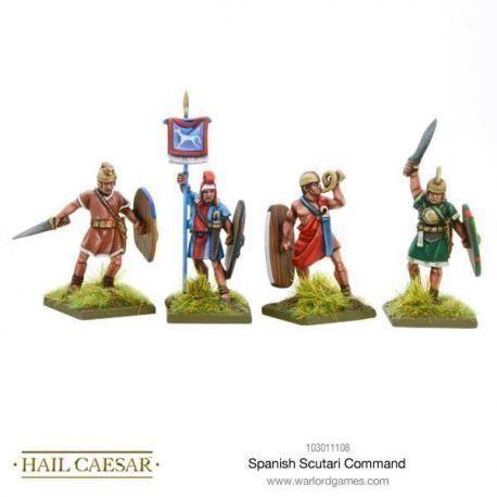 Spanish Scutarii command