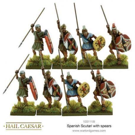 Spanish Scutari with spears
