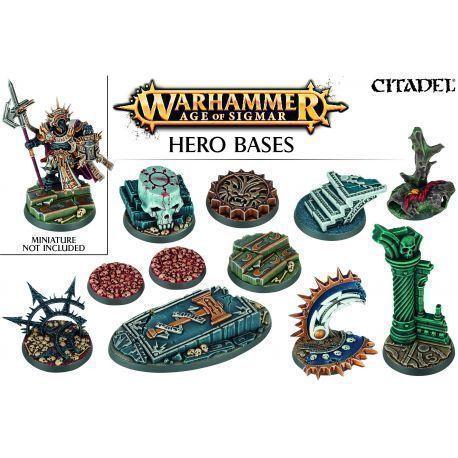 Peanas para héroe de Warhammer Age of Sigmar