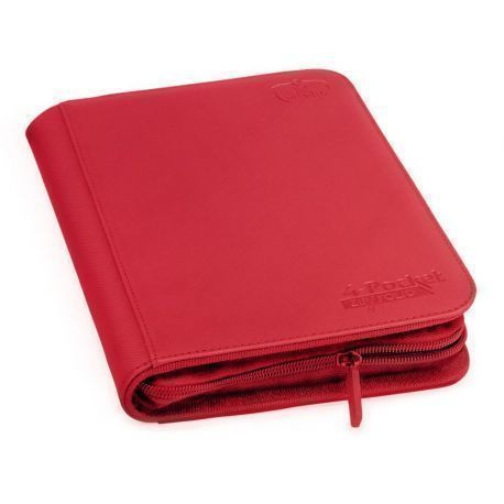 ÁLBUM 4 - POCKET ZIPFOLIO ROJO
