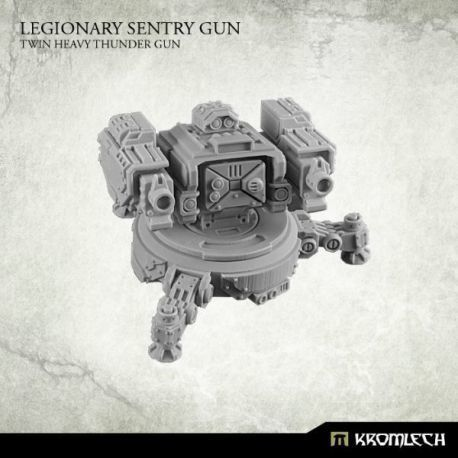 LEGIONARY SENTRY GUN: TWIN HEAVY THUNDER GUN