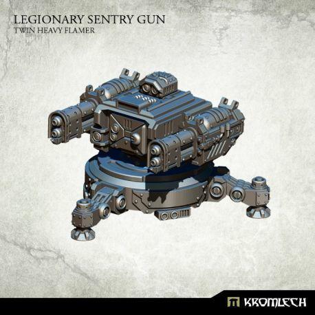 LEGIONARY SENTRY GUN: TWIN HEAVY FLAMER