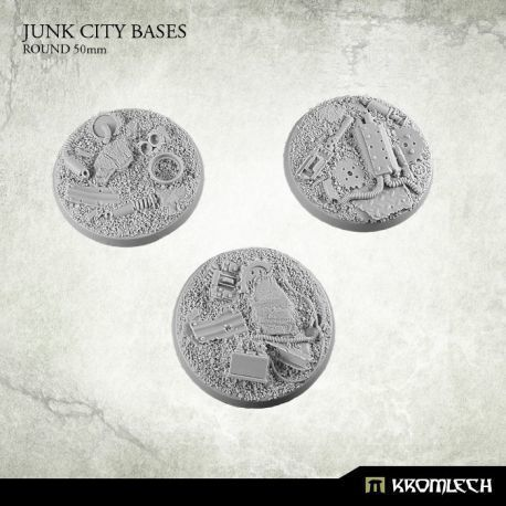 JUNK CITY BASES ROUND 50MM