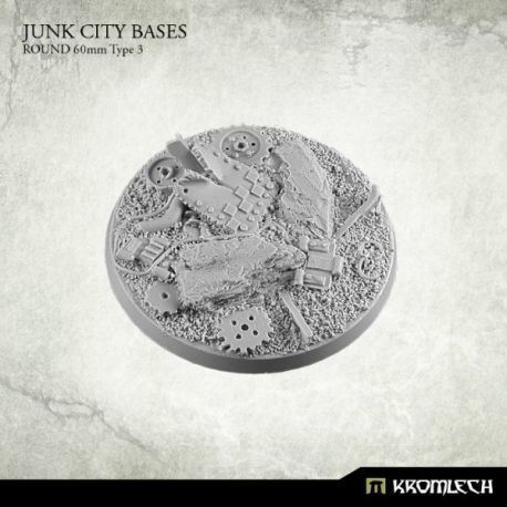 JUNK CITY BASES ROUND 60MM