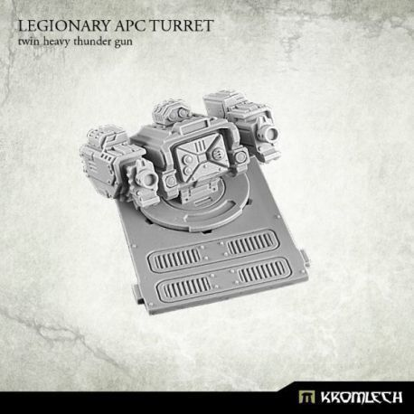 LEGIONARY PAC TURRET: TWIN HEAVY THUNDER GUN