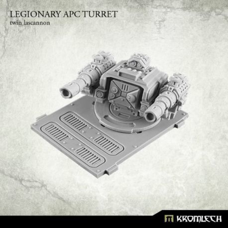 LEGIONARY PAC TURRET: TWIN LASCANNON