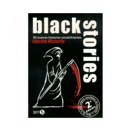 BLACK STORIES: EDICION MISTERIO SEGUNDA EDICION - JCNC