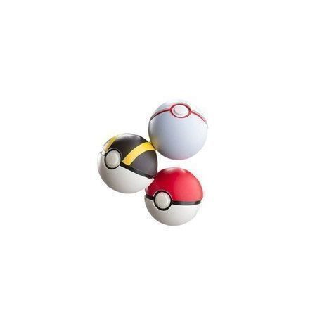 PACK DE 3 POKEBALLS FOAM