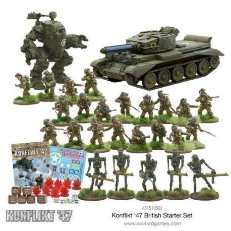 KONFLIKT 47 BRITISH STARTER SET