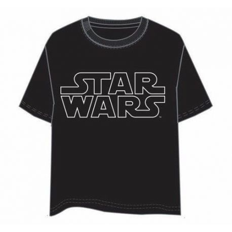 CAMISETA STAR WARS LOGO XXL